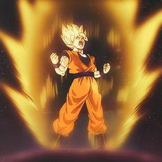 Super Saiyan Goku. #SonGokuKakarot