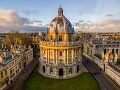 Bodleian Library at university of oxford england