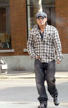 Bruce Springsteen...unlikely fashion icon