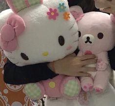 hello kitty uploaded by 𖦹ego on We Heart It Softies, Plushies, My Melody Sanrio, Catty Noir, Loli Kawaii, Hello Kitty Items, Cute Stuffed Animals, Cute Plush, Sanrio Characters