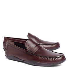 These shoes look SO comfortable! Harrys of London Basel Box Grain Loafers