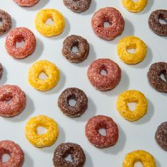 Sometimes you want to frootloop Froot Loops, Doughnut, Cereal, Snacks, Breakfast, Desserts, Food, Morning Breakfast, Tapas Food