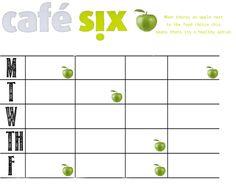 Cafe Six Menu
