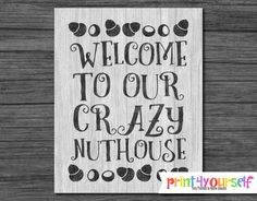 Instant Download 8x10 Printable Wooden Rustic by Print4Yourself