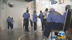 The California State Prison in Lancaster is teaming up with the non-profit Strindberg Laboratory to help prisoners express themselves through acting.