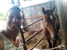 Juan Pablo at Atlantic Shores Riding Stables