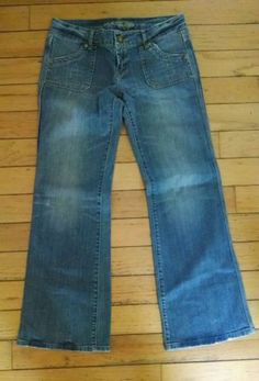 AMERICAN EAGLE Jeans Size 10 Regular WOMEN'S Distressed Boot Cut