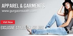 GurganSaath is providing apparel and garment exporters in Gurgaon. Complete source of all online clothes shopping fashion accessories also see their contact details.