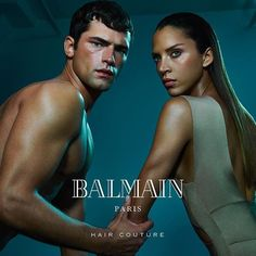 My summer campaign for @balmainhaircouture @highnability shot by @anlestudio with @seanopry55 Thank you guys for the fun ! #Balmain #balmainhaircouture #newyork #noemielenoir #nabilharlow #sunprotection