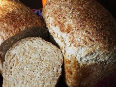 Chef Tess Bakeresse: Sprouted wheat bread day 3 in a food processor Love Food, A Food, Sprouted Wheat Bread, Flourless Bread, How To Make Flour, Sugar Bread, Grain Foods, Bread Baking, Keto Bread
