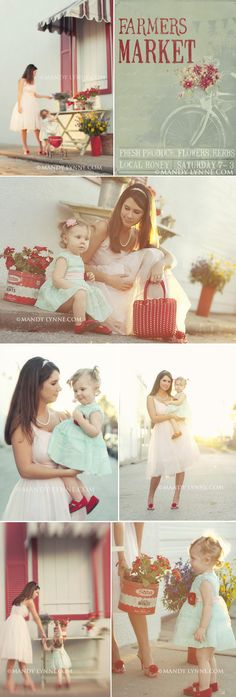 copyright mandy lynne flower market copy  ...love this mother daughter session