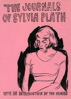 The Journals of Sylvia Plath cover by Leanne Shapton