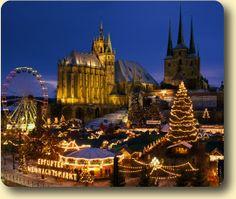 Erfurt Christmas Market. Erfurt, Germany