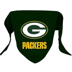 Hunter MFG Green Bay Packers Mesh Dog Bandana, Large ** Be sure to check out this awesome product.
