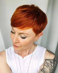 Rood is een haarkleur die het proberen waard is! Ook in de zomer! - Kapsels voor haar