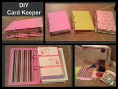 Card keeper book tutorial tutorials books and organizing easy diy card keeper a great idea for all of the greeting cards you don m4hsunfo