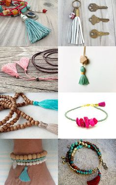 etsy treasury tassel the world