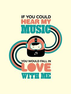 If You Could - UrbanArts Listening To Music, Art Direction, Falling In Love, Branding, Graphic Design, Words, Paper, Graphics, Decor