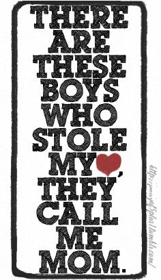 There are these Boys who Stole my Heart ❤️