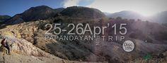 Fun Hike Papandayan 25-26 Apr'15. Full service package, more information www.lokaavontur.com