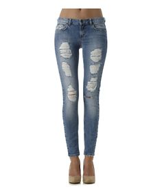 Gina Tricot - Isabella denim destroy jeans. Love these!