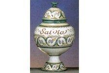 arte y artesania, Tarro de Farmacia Salvia, Tarro de Farmacia Salvia