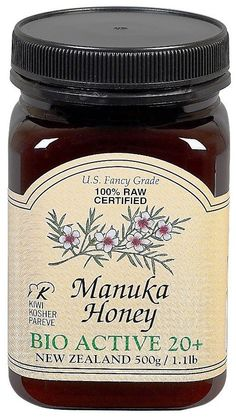 I used this on my monkey scratch. 1 tsp in hot water w/ lemon and you'll get an awesome dose of healing properties including anti-fungal, anti-bacterial, anti-inflammatory, digestive, skin etc. Holistic Nutrition, Health And Wellness, Home Remedies, Natural Remedies, Manuka Honey Benefits, Ulcerative Colitis, Alternative Health, For Your Health, Healthy Mind