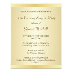 8 birthday invites ideas 70th