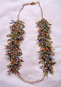 unique bead necklace