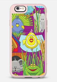 New Lil' Critter colorful egg shaped animals phone case on @casetify