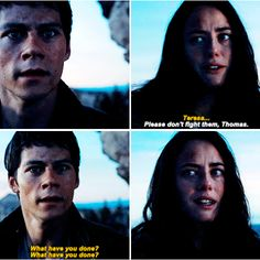 the scorch trials - thomas and teresa