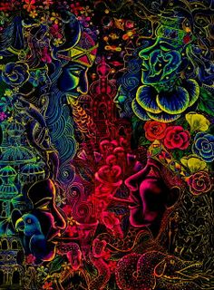 Psy art ir added a new photo. Psychedelic Art, Fractal Art, Hippie Art, Black Light Posters, Psychedelic Poster, Visionary Art, Artsy, Pop Art, Beautiful Art