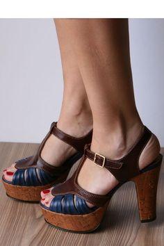 t-strap platform sandals - Chie Mihara