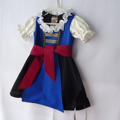 Pirate Dress Girl's Dirndl  Pirate Fairy Dress with by TwinsFromOz
