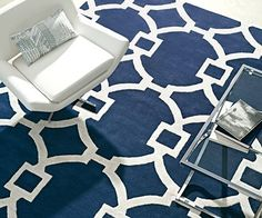 Bold and beautiful, some rugs just make a room!