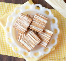 Lemon Filled Shortbread Cookies with White Chocolate and Lemon Sugar ~ store bought cookies spruced up. SO easy!