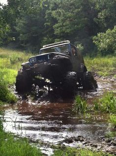 Mud! Awesome Photo! Re-Pinned by #JeepDreamsUSA.com