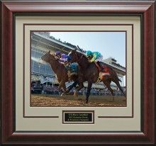 Kentucky Derby Winner I'll Have Another Photo Matted and Framed