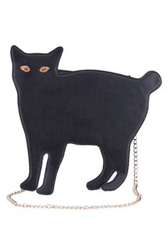 Cat-shaped Black Single Shoulder Bag<3<3<3<3<3<3