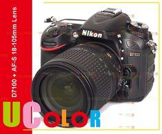 870.00$  Buy here - http://aliltt.worldwells.pw/go.php?t=1968741454 - New Nikon D7100 24.1 MP DSLR Camera + Nikkor AF-S 18-105mm f/3.5-5.6 DX VR ED Lens