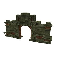 Buildings - Mayan Temple Starter - Low Poly 3D Model