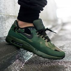 "#hbrecommends: @nike Air Max 1 Ultra Moire ""Green Camo"" Photo: @asphaltgold_sneakerstore"