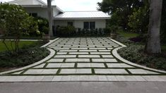 A beautiful driveway design starts with a call to AlternaScapes ...