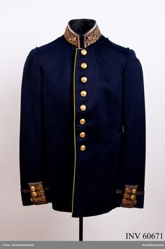 Tunic m/1845 for Generals.