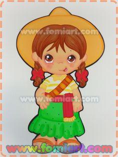 Niña revolucionaria falda verde - Fomiart Mexican Babies, Mexicans, Precious Moments, Princess Peach, Baby Boy, Clip Art, In This Moment, Blanket, Cute