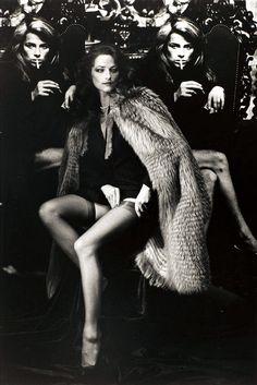 Charlotte Rampling par Helmut Newton