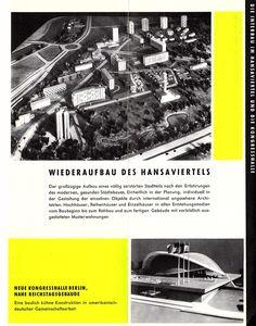 Berlin-Hansaviertel - Interbau 1957 - Prospekt