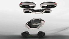 Airbus Has a Concept for a Transforming, Flying Car  - PopularMechanics.com