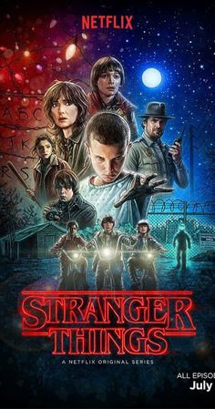 """For those of you who love an 80's classic, I've just started watching 'Stranger Things' a new drama on Netflix. Imagine E.T. , Alien, Pretty in Pink and Winona Ryder and that sets up the first 5 mins!"" -Elle"