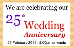 we are celebrating 25th birthday banner.